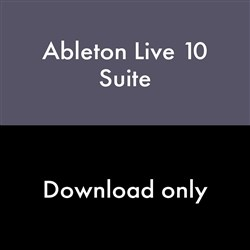 Ableton Live 10 Suite Upgrade from Live 7-9 Suite (eLicense Download Code Only)