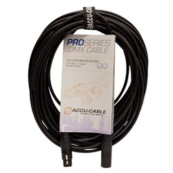 American DJ AC3PDMX50PRO 50 Foot (15 Meters) 3-Pin Pro DMX Cable