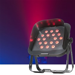 American DJ Flat Par TRI18XS DMX 18X 3W RGB LED inc. Snoot LED Stage Light
