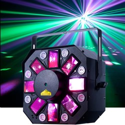 American DJ Startec Stinger II LED Moonflower w/ Laser & UV