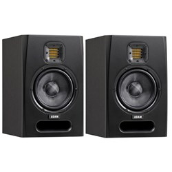 "ADAM F5 2-Way 5"" Nearfield Active Studio Monitors (Pair)"