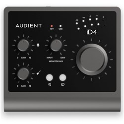 Audient iD4 MKII 2-In/2-Out Professional Audio Interface