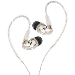 Audiofly AF1120 MK2 In-Ear Monitors w/ Super-Light Twisted Cable (Clear)