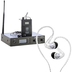 Audiofly AF100 Mk2 Wireless Monitoring Set w/ Smart Acoustic SIEM250