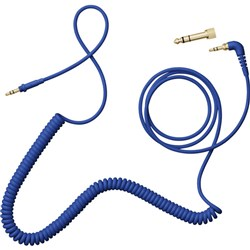 AIAIAI TMA-2 C08 Coiled Cable w/ Adaptor 1.5m (Blue)