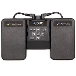 AirTurn Duo 200 Hands Free Wireless Bluetooth Remote Control Pedal