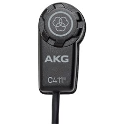 AKG C411 PP High-Performance Miniature Condenser Instrument Mic