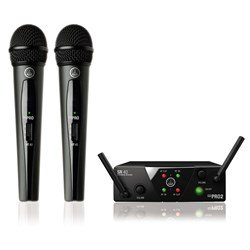AKG WMS 40 Mini2 Dual Wireless Handheld Mic System Band US45A/C