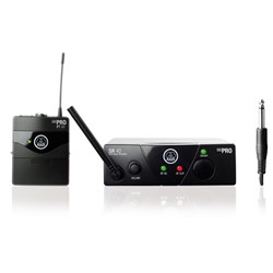 AKG WMS40 Wireless Bodypack Mic System Band C (662.300MHz)