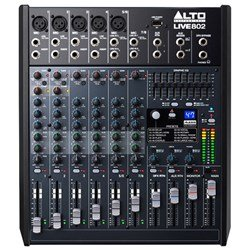 Alto Live 802 Professional 8-Channel 2-Bus Mixer w/ Effects