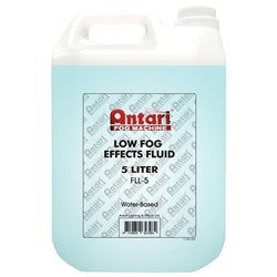 Antari FLL5 Low Fog Effects Smoke Fluid 5L