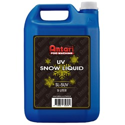 Antari SL5UV Snow / Foam UV Reactive Fluid 5L