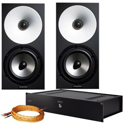 Amphion One15 Bundle Studio Monitoring Kit w/ 2x One15, 1x Amp700 & Cables
