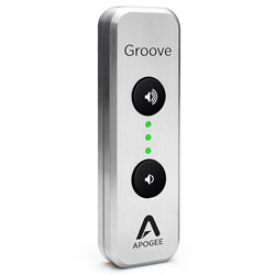 Apogee Groove Portable USB DAC & Headphone Amp for Mac & PC (Limited Edition Silver)