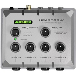 Aphex HeadPod 4 High Output Headphone Amplifier