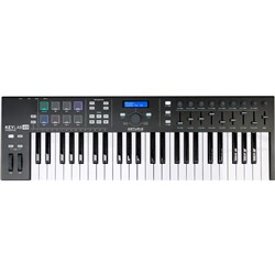 Arturia KeyLab Essential 49 USB/MIDI Controller Keyboard (Limited Edition Black)