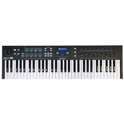 Arturia KeyLab Essential 61 USB/MIDI Controller Keyboard (Limited Edition Black)