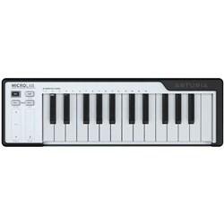 Arturia MicroLab 25-Key Portable USB Controller Keyboard (Black)
