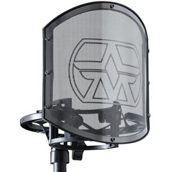 Aston SwiftShield Shock Mount & Solid Stainless Steel Pop Filter