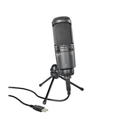 Audio Technica AT2020-USB+ Large Diaphragm Condenser with USB & Headphone Monitor