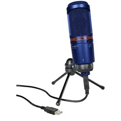 Audio Technica AT2020-USB+ Large Diaphragm Condenser Mic (Limited Edition Blue)