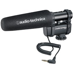 Audio Technica AT8024 Stereo/Mono Camera-Mount Mic