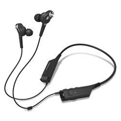 Audio Technica ATH-ANC40BT Wireless Noise-Cancelling Earphones w/ Bluetooth