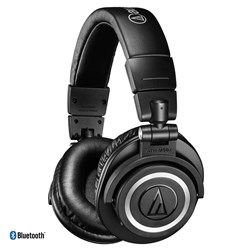 Audio Technica ATH M50xBT Studio Headphones w/ Bluetooth (Black)