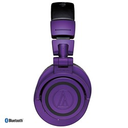 Audio Technica ATH M50xBT Studio Headphones w/ Bluetooth (Ltd Edition Purple & Black)