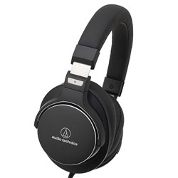Audio Technica ATH MSR7b Over-Ear High-Resolution Headphones (Black)