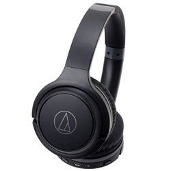 Audio Technica ATH-S200BT Wireless Over-Ear Headphones w/ Bluetooth (Black)