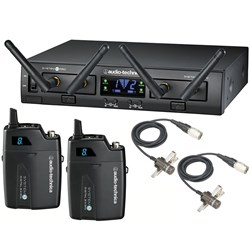 Audio Technica System 10 Pro ATW1311/L Dual Lavalier Wireless Mic System