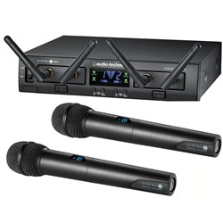 Audio Technica System 10 Pro ATW1322 Dual Handheld Wireless Mic System