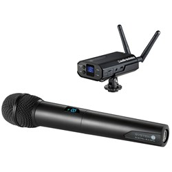 Audio Technica ATW1702 System 10 Camera-Mount Digital Wireless Handheld Mic System
