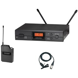 OPEN BOX Audio Technica ATW2000aL Wireless System w/ AT829cW Lavalier Microphone