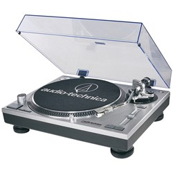 Audio Technica LP-120 USB Turntable (Silver)