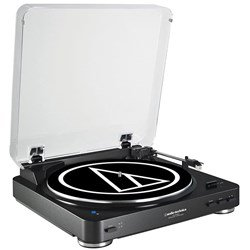 Audio Technica AT LP60BT Wireless Bluetooth Turntable (Black)