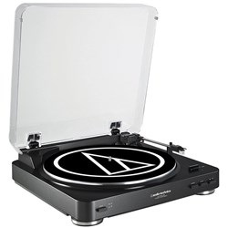 Audio-Technica LP60-USB Belt Driven USB Turntable (Black)