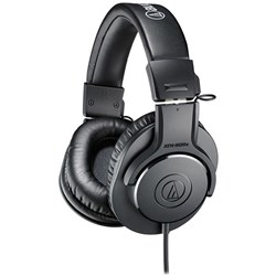 OPEN BOX Audio Technica ATH M20x Entry Level Monitoring Headphones (Black)