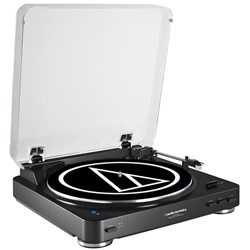 OPEN BOX Audio Technica AT LP60BT Bluetooth Turntable (Black)