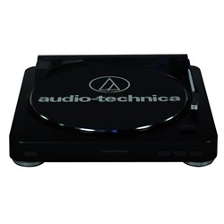 OPEN BOX Audio Technica LP60-USB Belt Driven USB Turntable (Black)