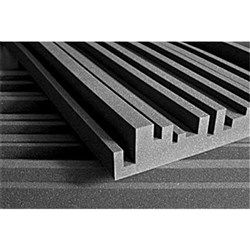 "Auralex Studiofoam Metro 2"" x 24"" x 48"" - Box of 12 (Charcoal)"