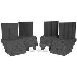 Auralex D36 Room Kit Charcoal & Charcoal 36x Panels