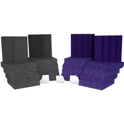 Auralex D36 Room Kit Charcoal & Purple 36x Panels