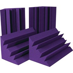 Auralex LENRD Bass Traps 4x (Purple)