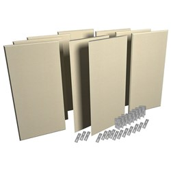 Auralex ProPanel ProKit-1 Acoustic Room Treatment System  - 9 Panels (Sandstone)