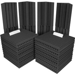 Auralex Project 2 Kit 32 Piece Inc 8x Bass Traps (Charcoal & Charcoal)