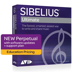Avid Sibelius Ultimate Perpetual License - NEW - EDU (Electronic Delivery)