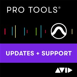 Avid Pro Tools 1-Year Updates & Support - NEW (Electronic Delivery)