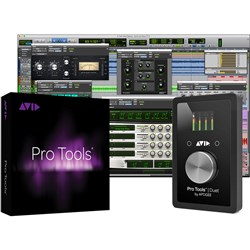 Avid Apogee Duet w/ Pro Tools Annual Subscription (inc. Activation Card & iLok)